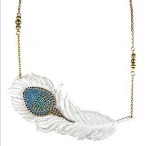 tarina tarantino topkapi magic feather necklace